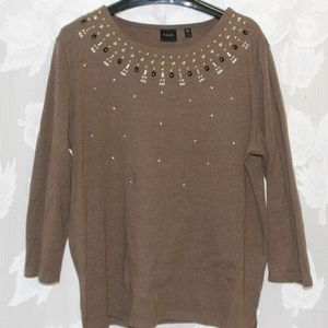 2 for $25 - Long sleeve T-Shirt with sequin detail